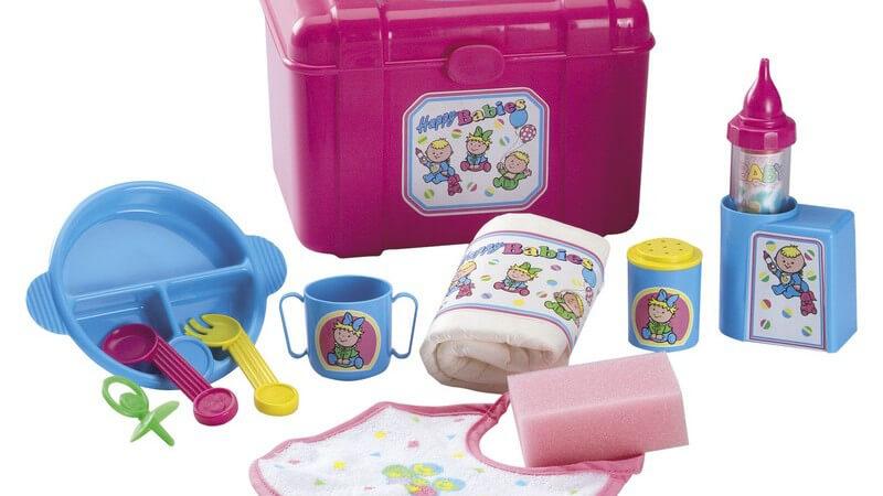 Geeignete Farben, Formen und Materialien für kindgerechte Baby-Lätzchen