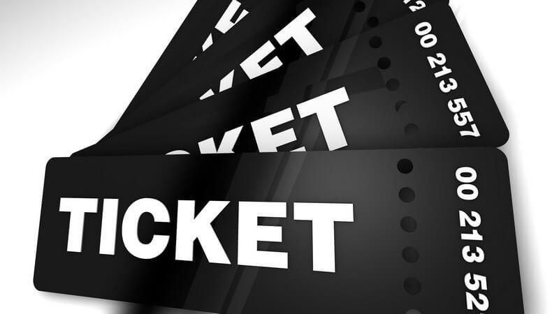 Tickets für Veranstaltungen auf unterschiedlichem Wege kaufen