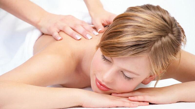 Die klassische Massage zur Anregung der Körperfunktionen