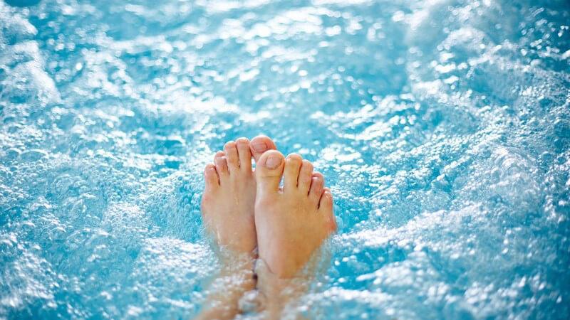 Das Schwefelbad zur Behandlung von Hautkrankheiten