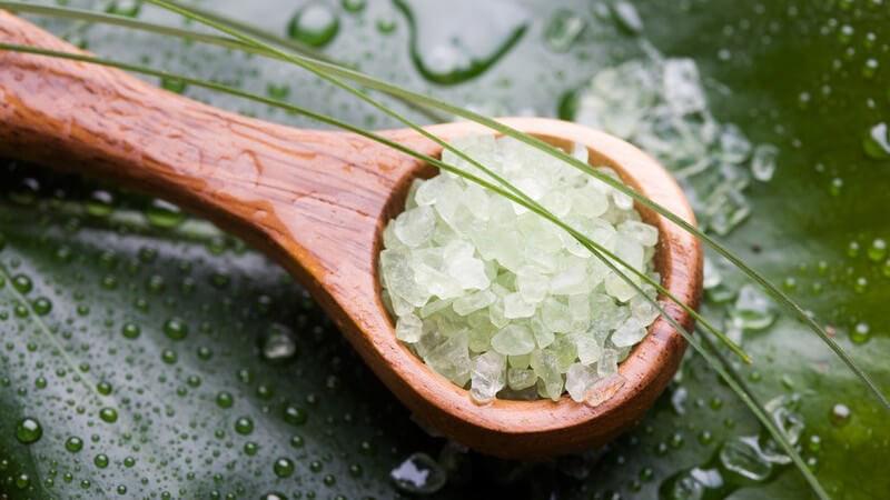Der hohe Salzgehalt hat positive Effekte auf den Organismus