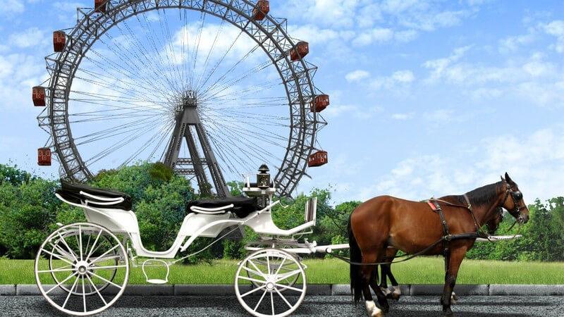 Das Riesenrad als romantischer Treffpunkt