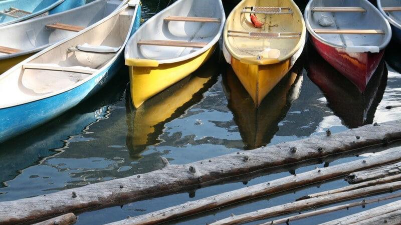 Wir informieren über die unterschiedlichen Bootstypen sowie die Kanusportvereine - auch in der kalten Jahreszeit muss man auf den Kanusport nicht verzichten