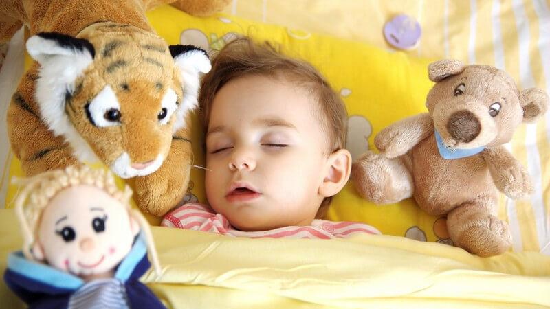 Wir informieren darüber, was ein Baby unter einem Schlafsack tragen sollte - Babyschlafanzüge gibt es in großer Vielfalt; bestenfalls wählt man Bio-Baumwolle