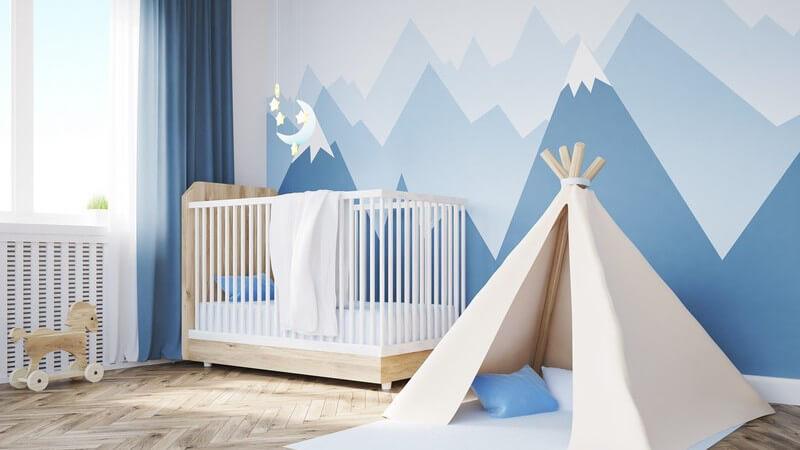 Wir gebenTipps für eine harmonische Wandgestaltung im Kinderzimmer - von Wandfarben, Tapeten bis hin zu Wandtattoos