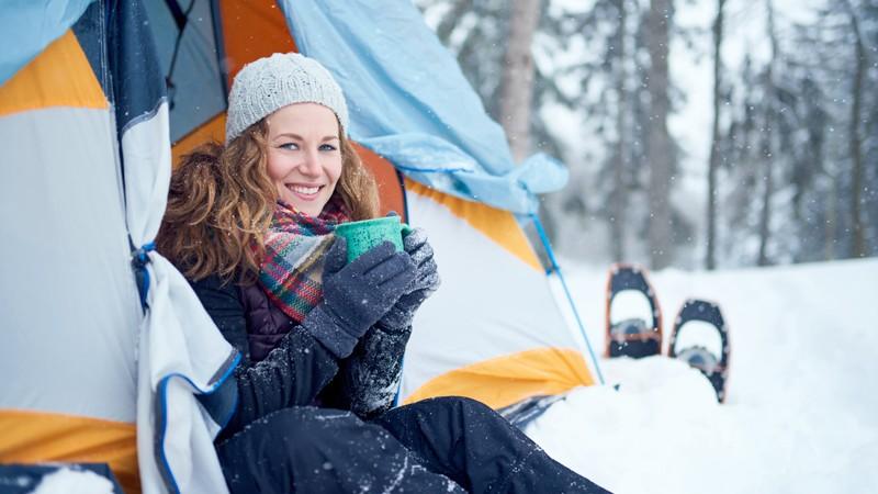 Zelten in der Kälte - Camping im Winter ist nicht nur etwas für Hartgesottene