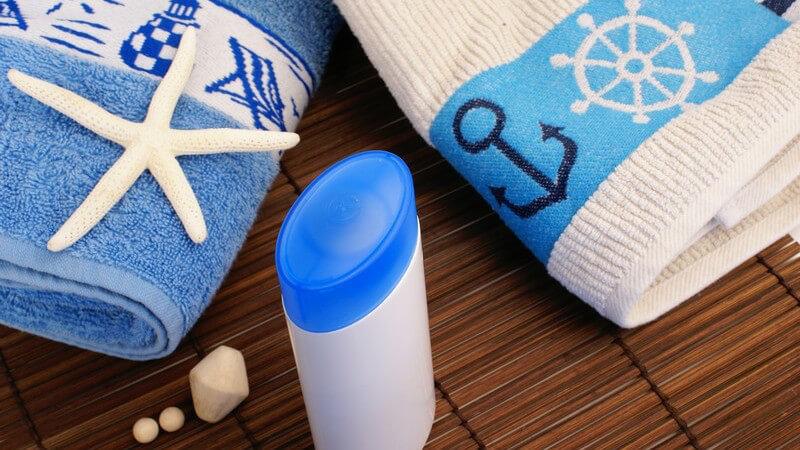 Was Sie bereits beim Kauf und im späteren Umgang mit Ihrem Badetuch beachten sollten
