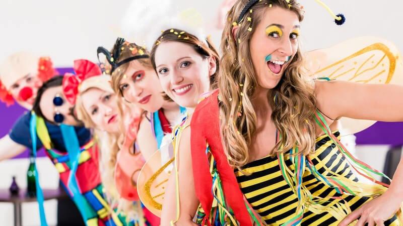Mit diesen Tipps und Hinweisen werden Sie zum Blickfang auf jeder Karnevalsveranstaltung