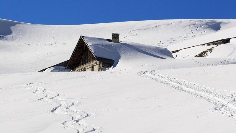Urlaub in der Berghütte