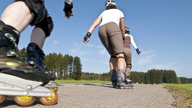 Inline-Skating: Funsport für Jung und Alt