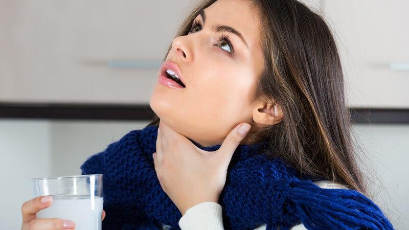 Die Entstehung einer Halsentzündung und wie man sie erkennen und behandeln kann