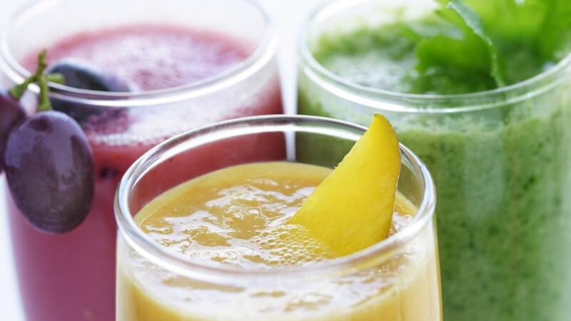 Nicht immer muss es dabei der fruchtige Shake sein - auch Kräuter eignen sich hervorragend