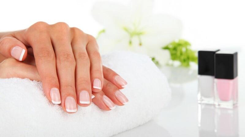 Die Finger- und Fußnägel unterstützen mitunter die Greiffunktion; sie bestehen aus durchsichtigen Keratinplatten