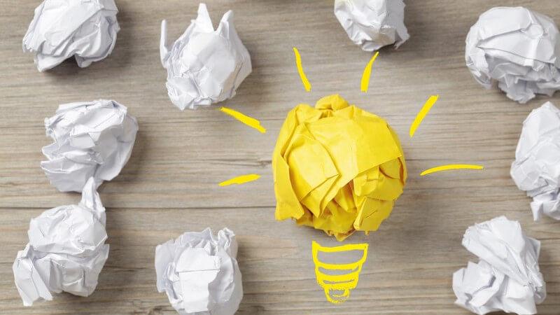 Tipps für ein effektives Brainstorming: Brainstorming-Produkte sinnvoll darstellen
