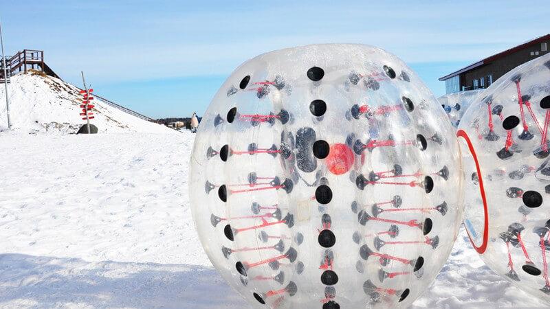 Der Snow Zorb: Aufbau, Fahrtechnik und geeignete Altersgruppen
