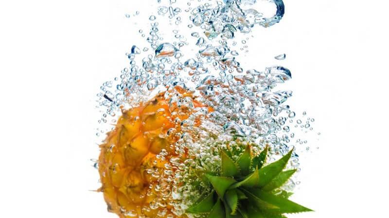 Enthält wichtige Vitamine und Mineralstoffe und eignet sich z.B. auch für die Zubereitung von Cocktails