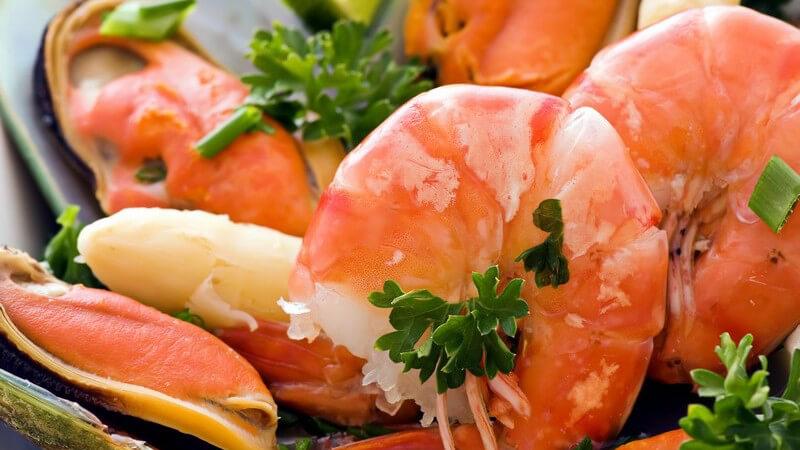 Arten und gesundheitliche Vorzüge von Meeresfrüchten