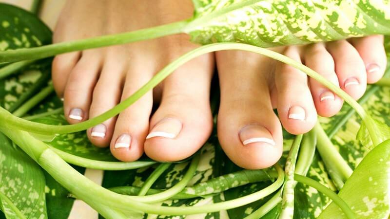 Wir geben Tipps zum richtigen Feilen der Fußnägel