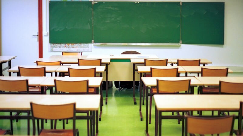 Merkmale und Gestaltung eines Klassenraums