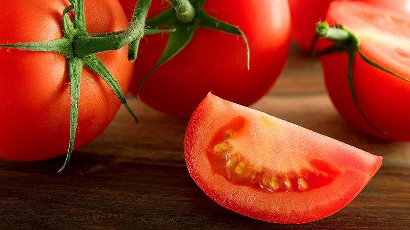 Verwendung von Tomaten in der Küche