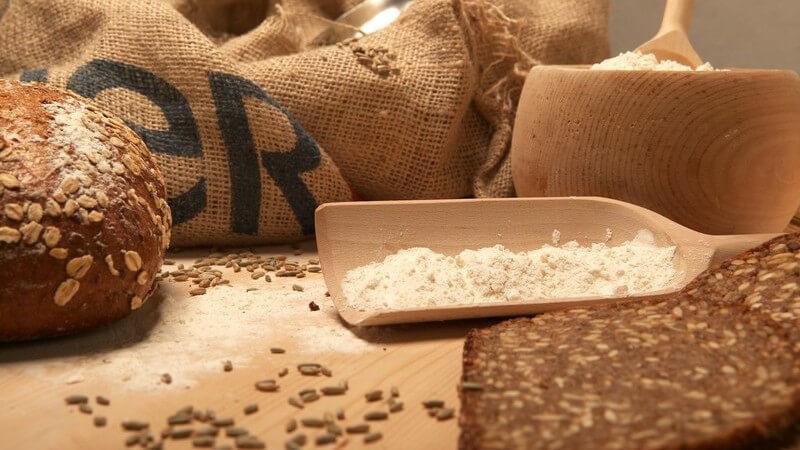 Zu einer gesunden Ernährung sollten Vollkornprodukte dazugehören; es gibt verschiedene Getreidearten, aus denen Produkte wie Brot und andere Teigwaren herstellen lassen