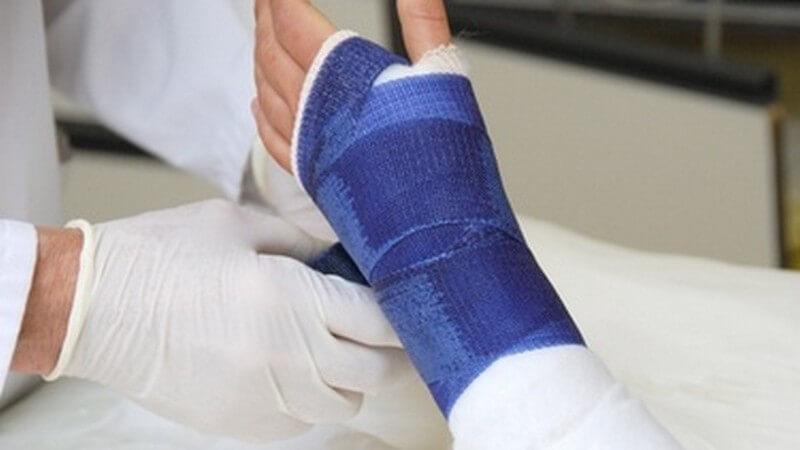 Einen bekommt gips sehnenscheidenentzündung man bei Belastungsgrenze überschritten: